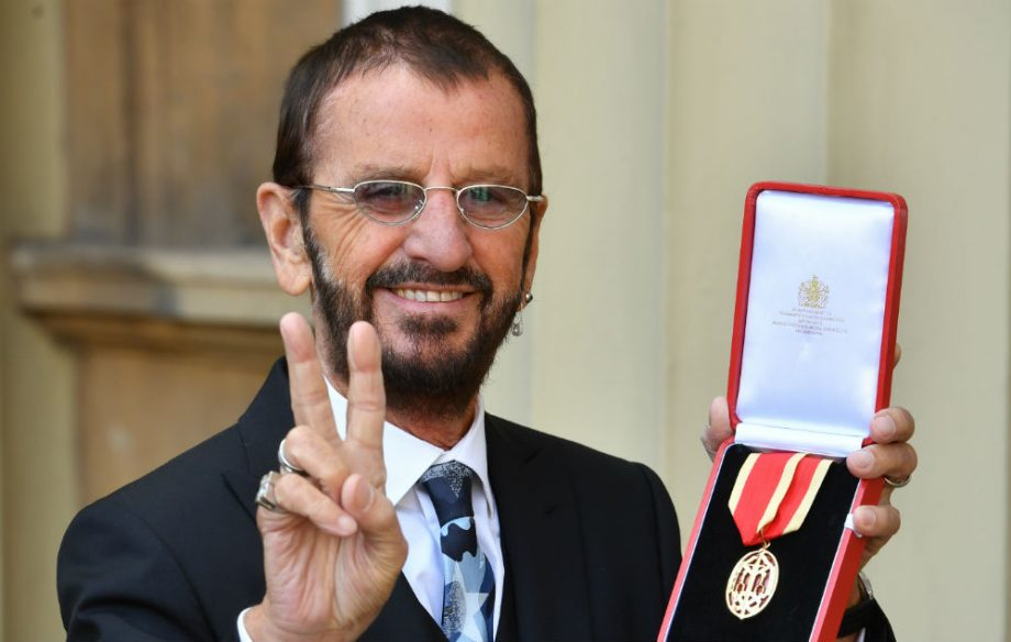 Ringo Starr Credit Getty