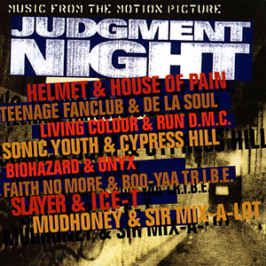 Judgment Night soundtrack album coveart