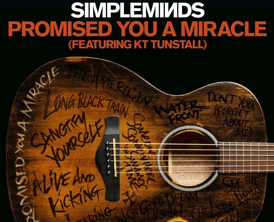 SimpleMinds Promised Single Cover UniversalMusic